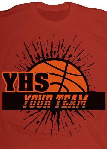 customize your basketball team t shirts with your favorite layouts team colors mascot - Basketball T Shirt Design Ideas