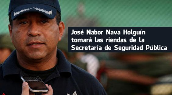 Nombra Duarte a José Nabor Secretario de Seguridad Pública