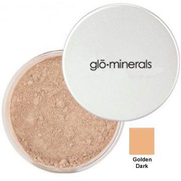 GloMinerals Loose Base, .37 oz - Golden-Dark