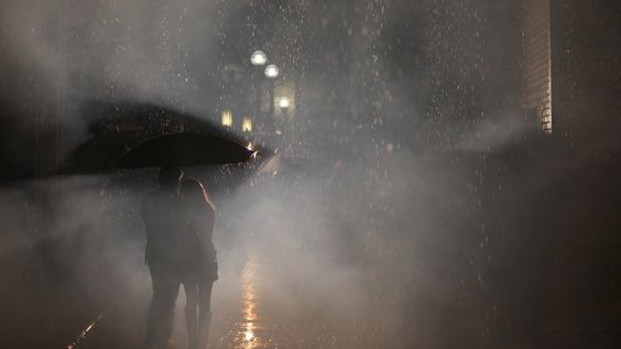More than words. Photograph Rain/Love/Life by John Counter