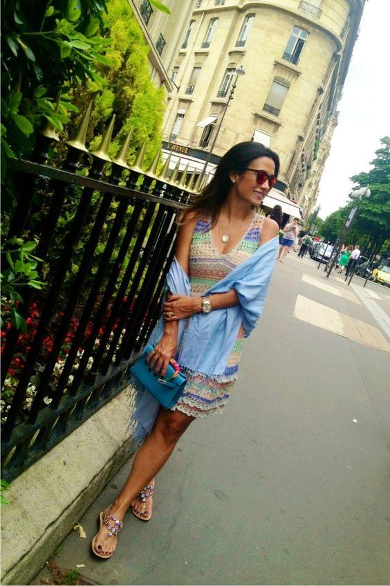 Blog da Maria Sophia │ Lifestyle and Fashion: Meu look em Paris: Crochet!