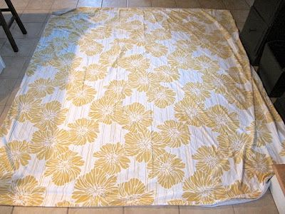 Sew Many Ways...: Easy Lined Curtains from a Duvet Cover...Just Two Lines of Sewing