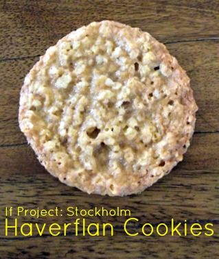 If Project: Stockholm :: Haverflan Cookies
