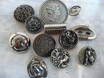 boutons anciens de collection