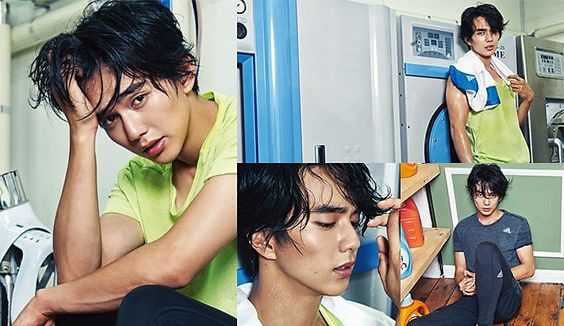 An Athletic Yoo Seung Ho For High Cut's Vol. 156. // Couch Kimchi