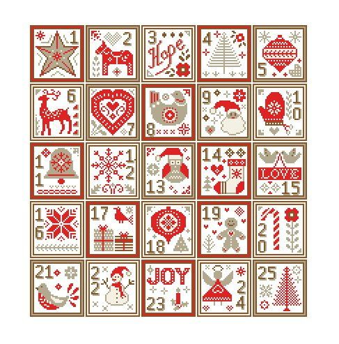 Christmas Cross Stitch Pattern Nordic Christmas Sampler Cross Etsy Cross Stitch Patterns Christmas Christmas Cross Stitch Scandinavian Cross Stitch