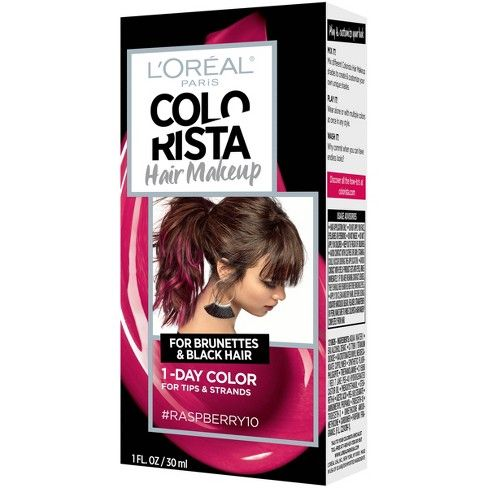 L Oreal Paris Colorista Hair Makeup Temporary Hair Color