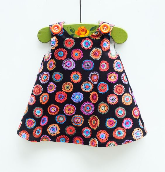 Toddler Dress  Gift for Her  Girls Tunic  by KKchildrendesigns, $33.00