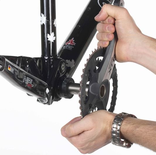 Mtb Kurbel Montieren Fahrrad Fahrrad Fahren Und Innenlager