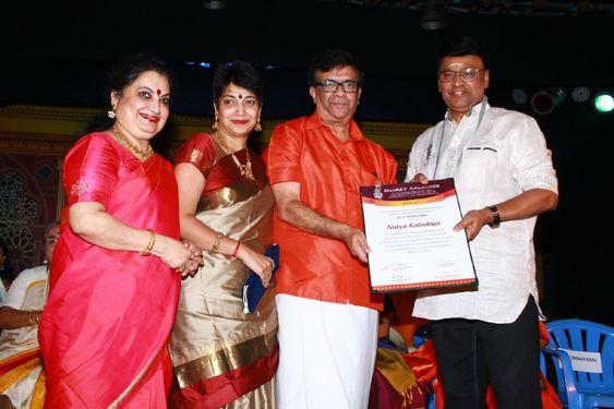 Director K Bhagyaraj At 32nd Margazhi Mahotsav Inauguration & Award Function