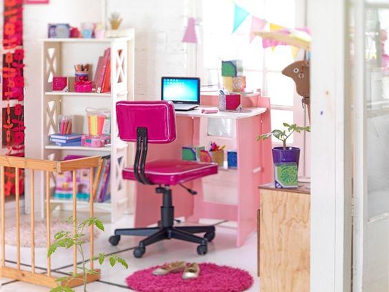 Espacios de trabajo  #Escritorio #muebles #dormitorio #pieza