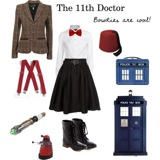 The 11th Doctor/ girl doctor !!! Which would atcherly be wrong !!!