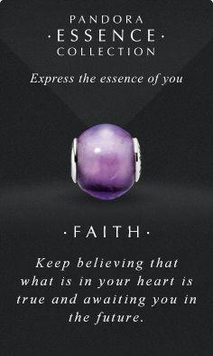 Faith Pandora Charm