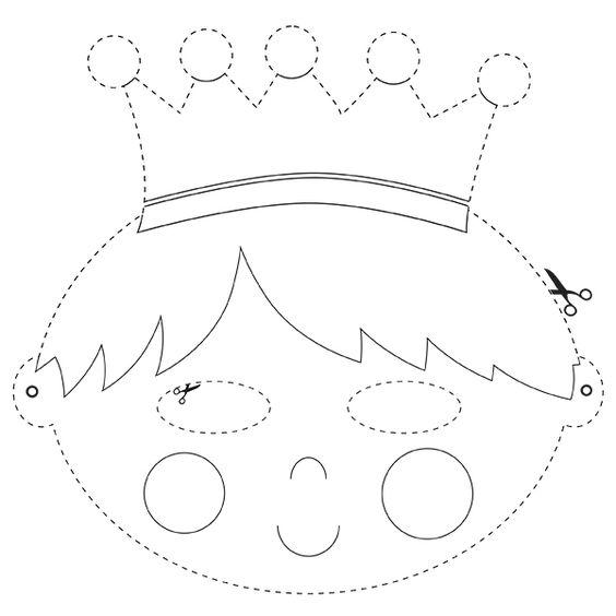 Masker van de Koning   © Papiergoed