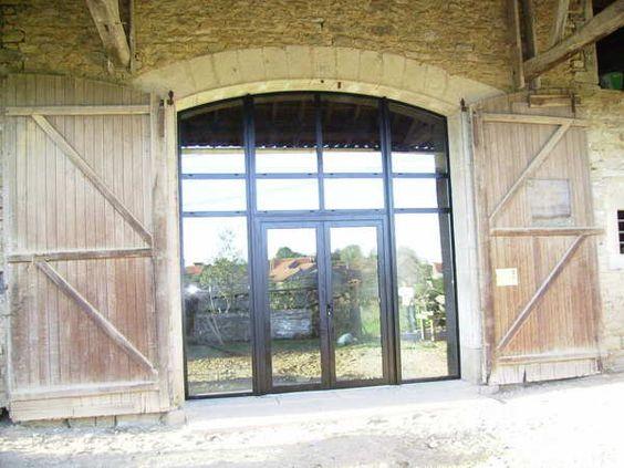 grande largeur  porte de grange  pinterest