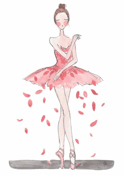 Ballet illustrations by Noemi Manalang