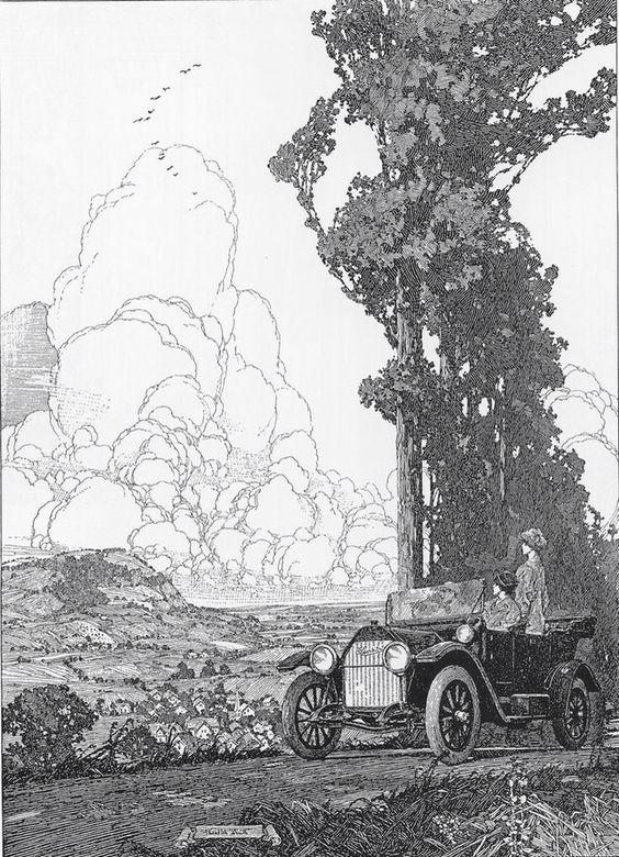 美国艺术家 Franklin Booth...
