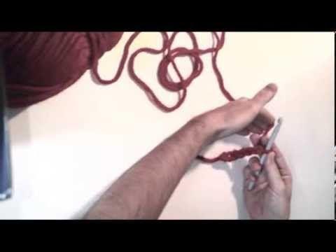 Video para aprender el Punto Bajo a crochet