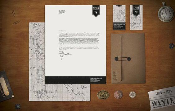 Spion Identity Design by Sarah Taylor