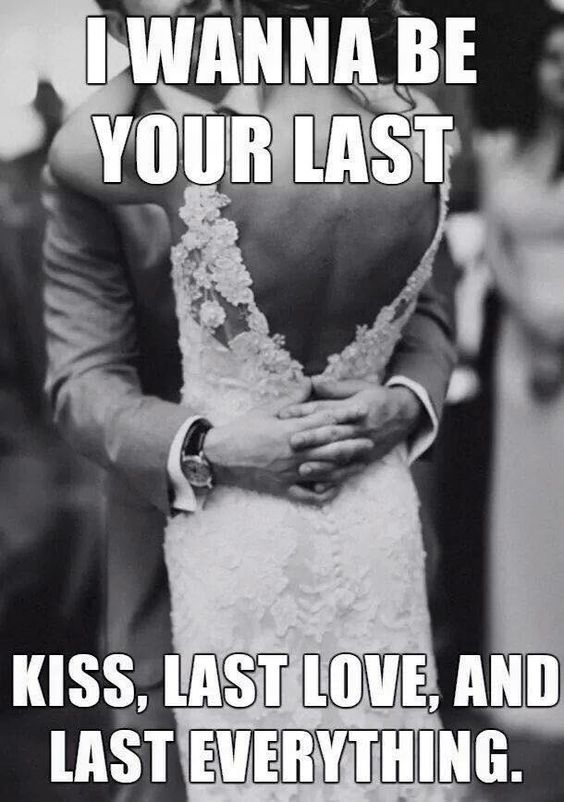 I wanna be your last
