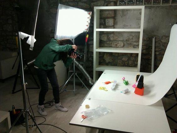 noelia lozano, prise de vue studio photo