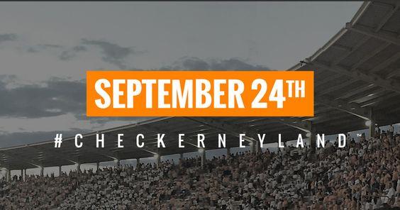 Checker Neyland Stadium - #checkerneyland