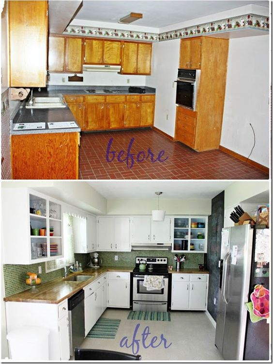 kitchen redo on a tight budget new house pinterest