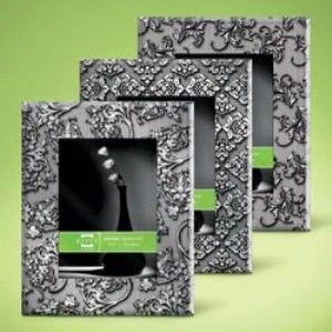 5x7 Art Nouveau Mirrored Glass Frames Asst