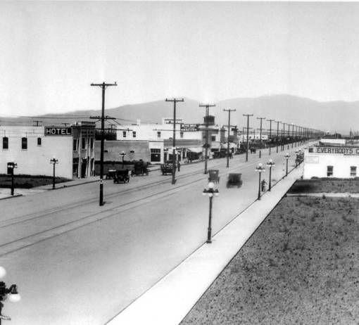 Van Nuys Boulevard, 1913 :: San Fernando Valley History