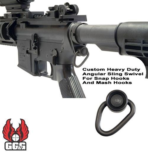 GGG-1417 AR-15 Receiver End Plate & Angular QD Sling Mount AR15: