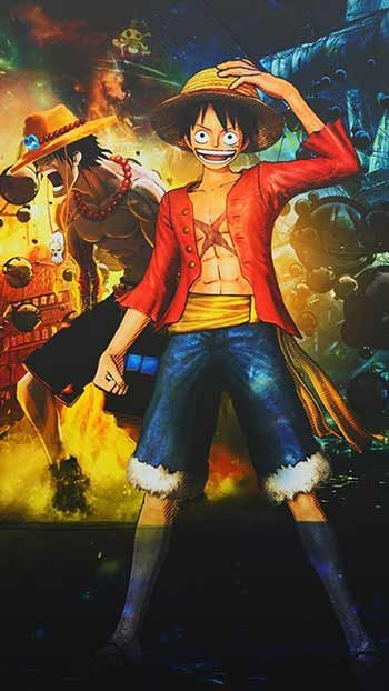 Wallpaper One Piece Luffy Lucu Ia Dikenal Sebagai Karakter Lucu