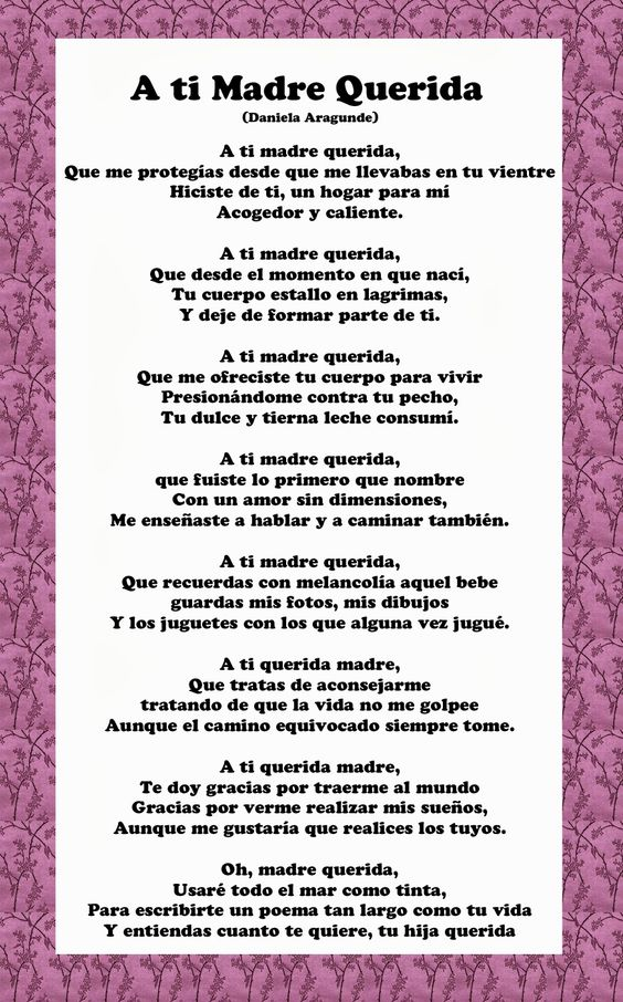 Gracias Madre Quotes quotes in spanish for mothers day | family quotes | pinterest