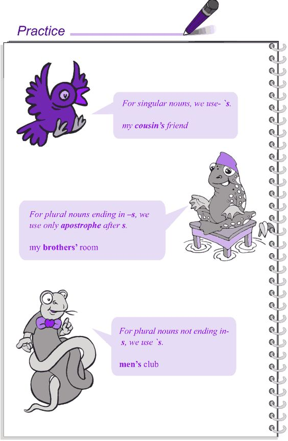 Grade 4 Grammar Lesson 7 Nouns - case (4)