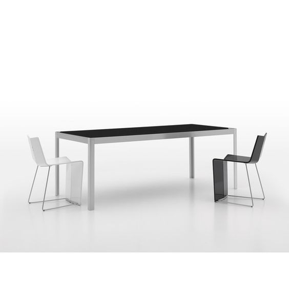 Alleno Sienna Writing Desk with Glass Table Top and Modern Look
