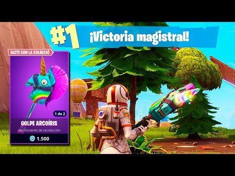 Victoria Con Nuevo Pico Unicornio Fortnite Battle Royale Fortnite Parejas