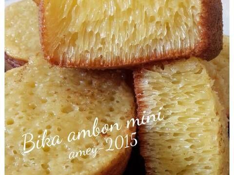 Resep Bika Ambon Mini Oleh Amei Resep Resep Cemilan Resep Masakan