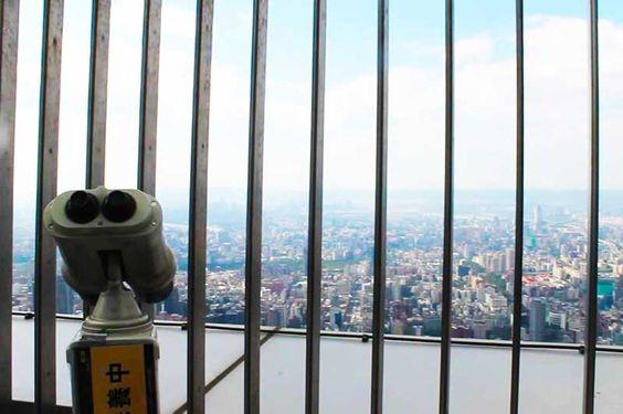 Đài quan sát tại tháp Taipei 101