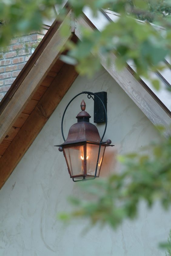 Wall mount aesthetics and electric on pinterest for Outdoor electric yard lights