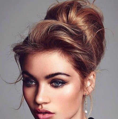 Medium Hair Updos That Are As Easy As 1 2 3 60 Ideas To Diy Hair Motive Hair Motive Simple Prom Hair Short Rocker Hair Pompadour Hairstyle