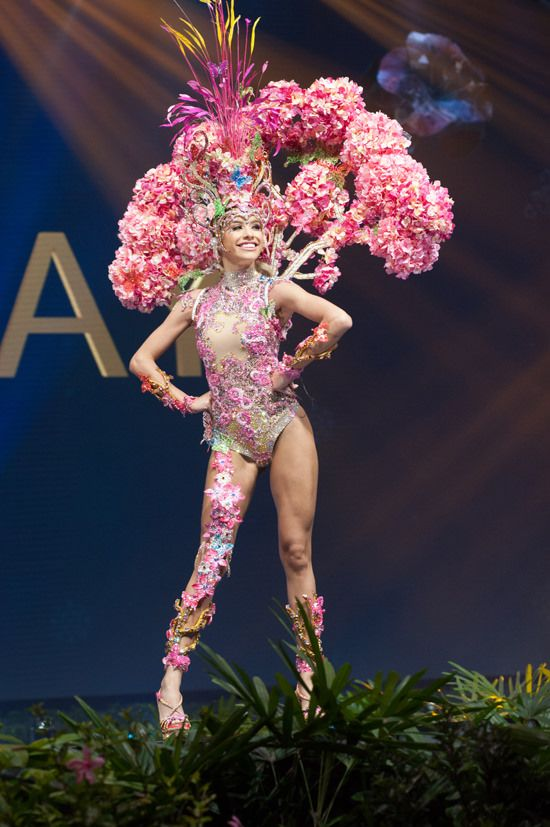 Miss Universe National Costumes 2018 Part 1: Feathers and Flowers | Tom + Lorenzo