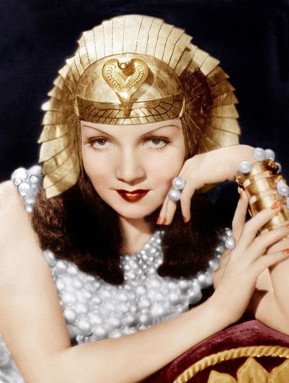 "Claudette Colbert, ""Cleopatra"" (1934)"