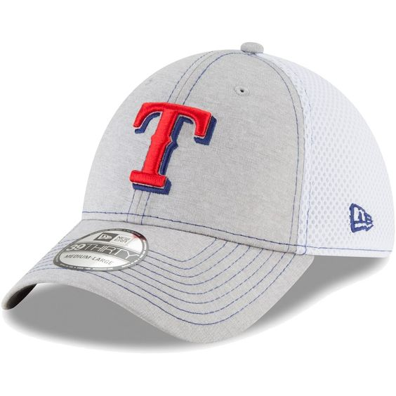 Men S Texas Rangers New Era Gray Classic Shade Neo 39thirty Flex Hat Your Price 25 99
