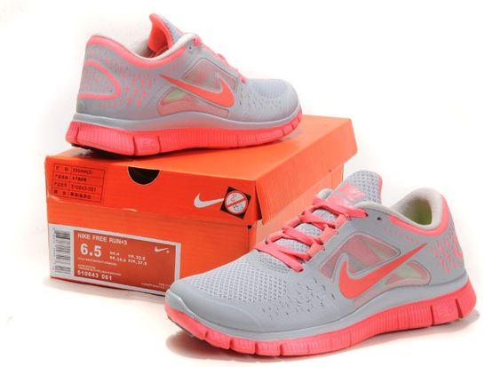Nike Chaussures Des Femmes + Free Run 3 Chaussures De Sport