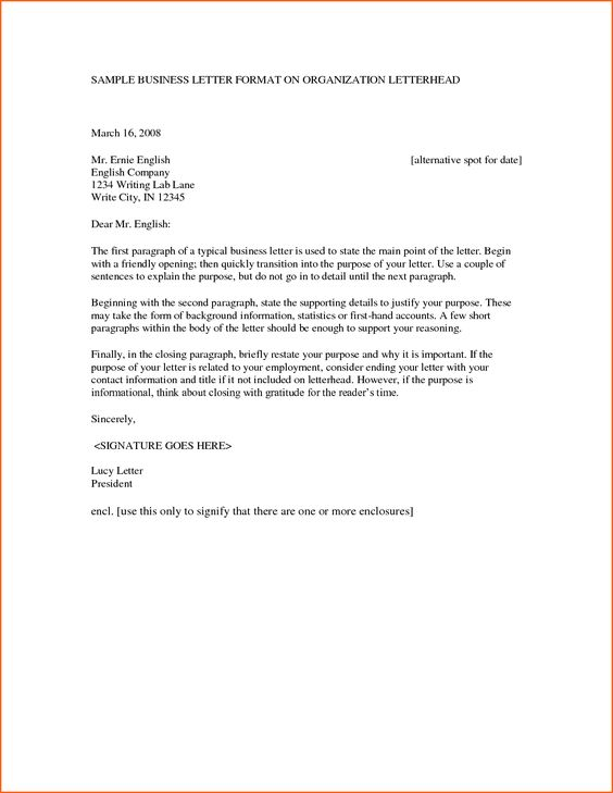 sample business letter format company letterhead get now doc - business letterhead