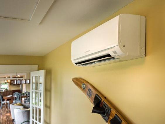 Mitsubishi air conditioner-- pros and cons of ductless system