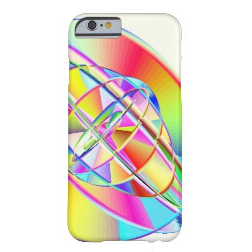 Gyroscopic Rainbow iPhone 6 Barely There Case Barely There iPhone 6 Case