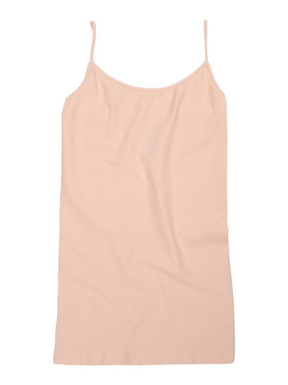 Tees by Tina Solid Cami Top in Blush Pink, OSFM