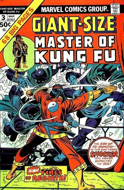 Giant-Size Master of Kung Fu #3, inked by Joe Sinnott
