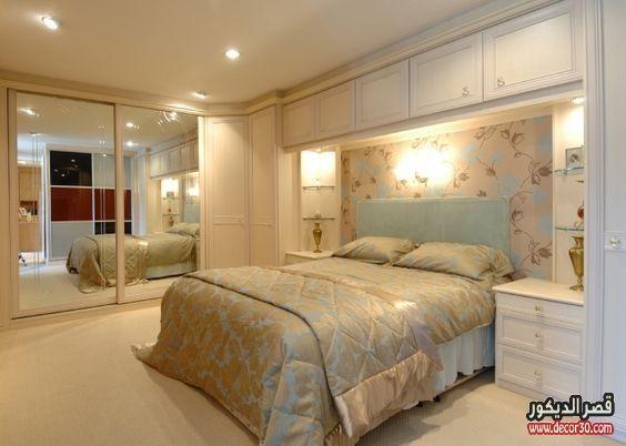 دهانات غرف نوم الوان الحوائط الحديثة Modern Bedroom Paints قصر الديكور Interior Design Bedroom Luxurious Bedrooms Remodel Bedroom
