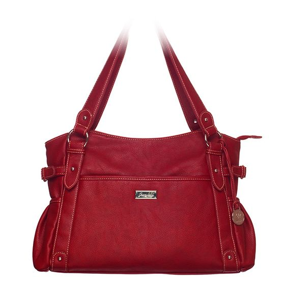 I love this bag!  Available in 6 additional colors!  Organized interior with a pocket for everything...Phone, notebook, wallet, makeup bag.  So organized!